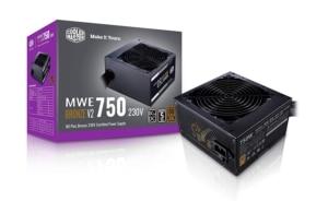 Cooler Master MWE 750 Bronze V2 Box View