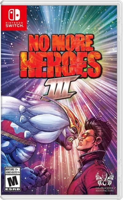 No More Heroes 3 Box Art NSW