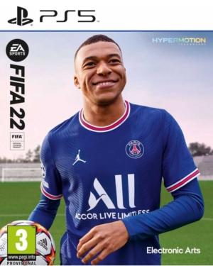 FIFA 22 Box Art PS5