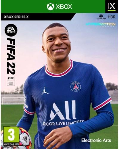 FIFA 22 Box Art XSX