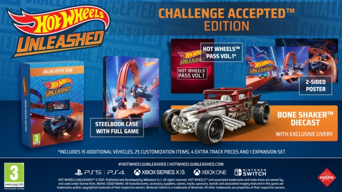 Hot Wheels Unleashed Challenge Accepted Edition Poster