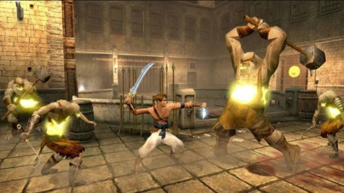 2003 Prince of Persia Sand of Time Screenshot