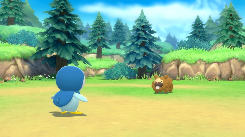 Pokémon Brilliant Diamond Game Screenshot 1