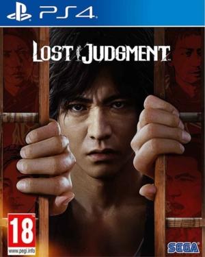 Lost Judgment Box Art PS4