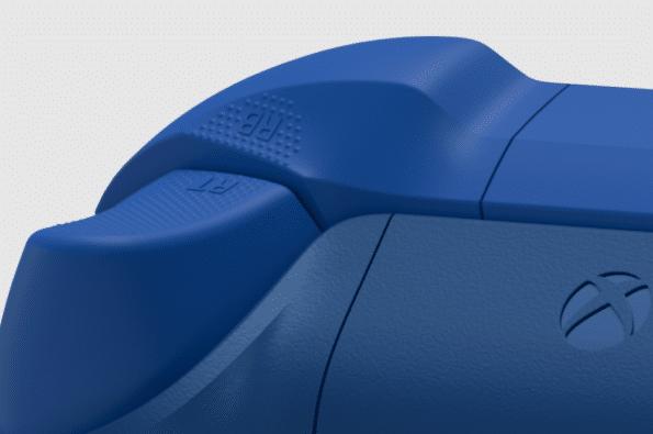 Xbox Aqua Shift Wireless Controller Textured Grip View