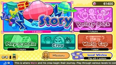 WarioWare: Get It Together! Game Screenshot 3
