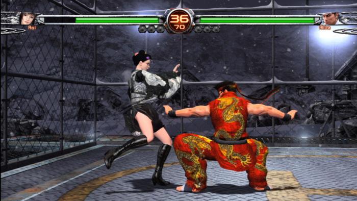 Virtua Fighter 5 - Ultimate Showdown Screenshot