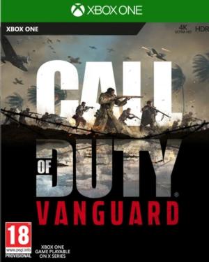 Call of Duty: Vanguard Box Art XB1