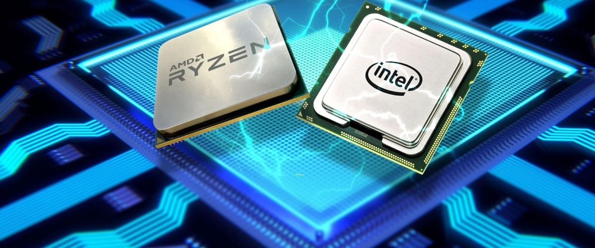 AMD & Intel Processor Poster