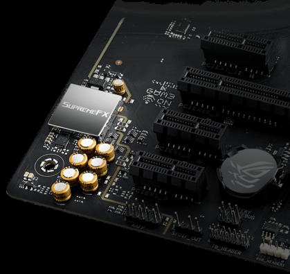 ASUS ROG Strix B560-A Gaming WiFi Audio View