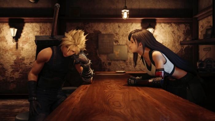 Final Fantasy VII Remake Screenshot Characters