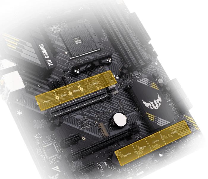 ASUS TUF Gaming B550-PLUS Storage View