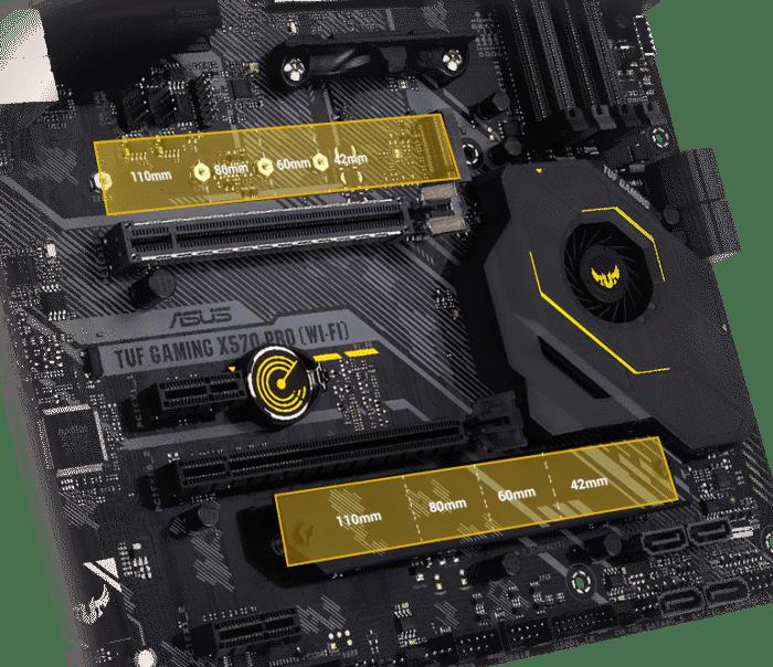 ASUS TUF Gaming X570-PRO (Wi-Fi) PCIe 4.0 View