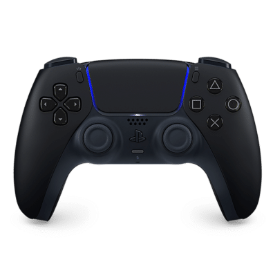 Sony PS5 DualSense Midnight Black Front View