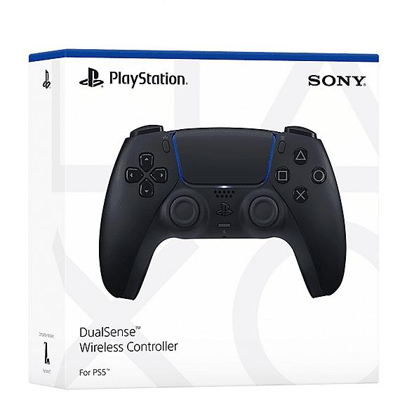 Sony PS5 DualSense Midnight Black Box View