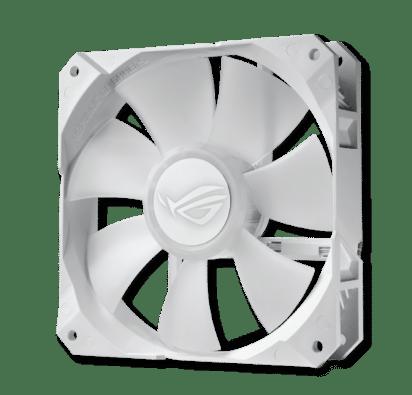 ROG Strix LC 360 RGB White Edition Fan View