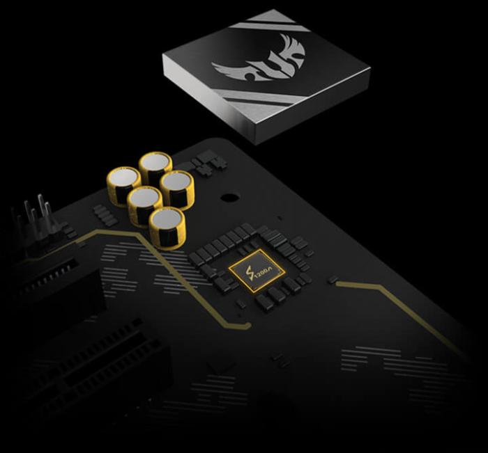 ASUS TUF Gaming X570-PRO (Wi-Fi) Audio View