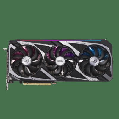 ASUS RTX 3060 V2 OC Flat Fan View