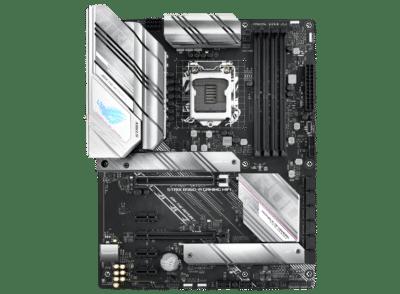 ASUS ROG Strix B560-A Gaming WiFi Flat View