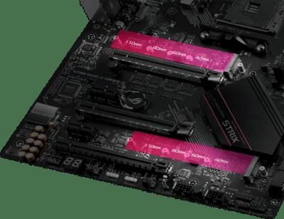 ASUS ROG Strix B550-XE Gaming WiFi PCIe View