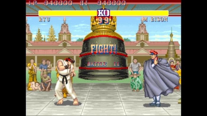 Street Fighter II Screenshot