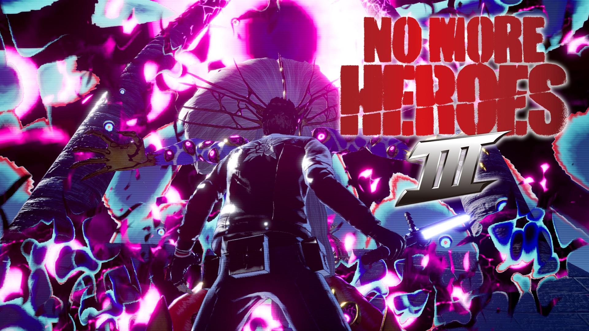 No More Heroes 3 Logo Poster