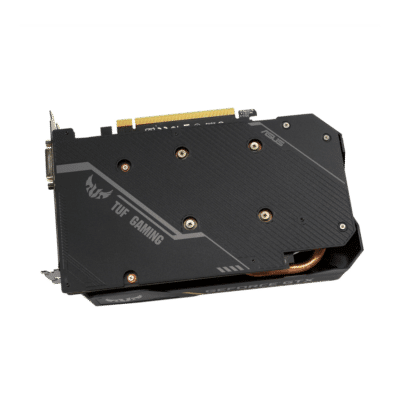 ASUS GTX 1650 OC TUF Gaming 4G Backplate View
