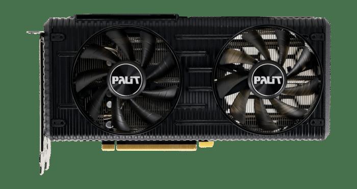 Palit RTX 3060 Dual 12G Flat Fan View