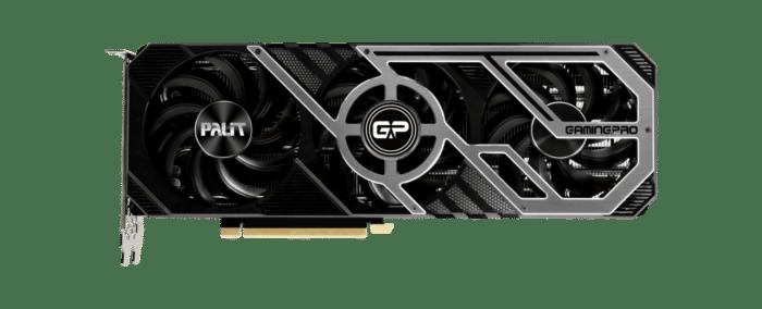 Palit RTX 3070 GamingPro Flat non-RGB View