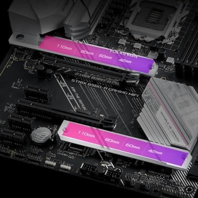 ASUS ROG Strix B560-A Gaming WiFi PCIe 4 View