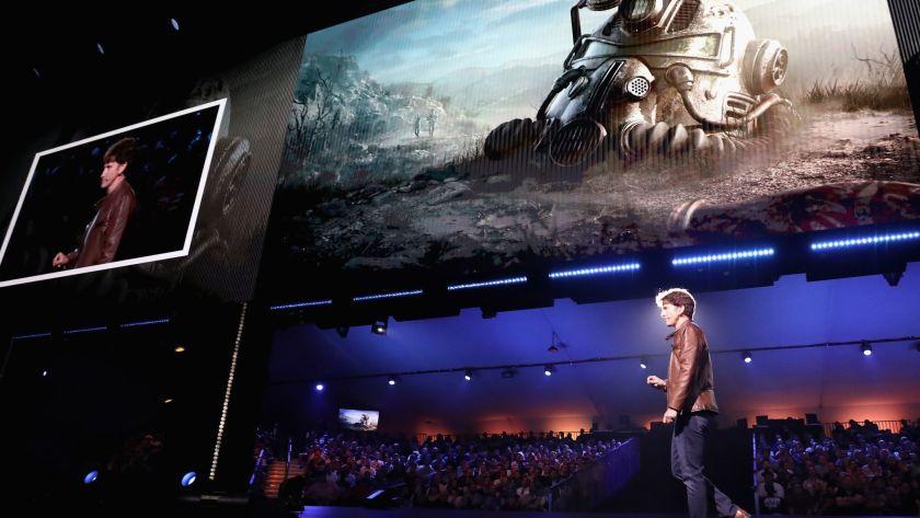Microsoft Bethesda Announcement Presentation Photo