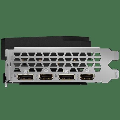 Gigabyte RTX 3060 Ti AORUS Elite 8G rev. 2.0 DP HDMI View