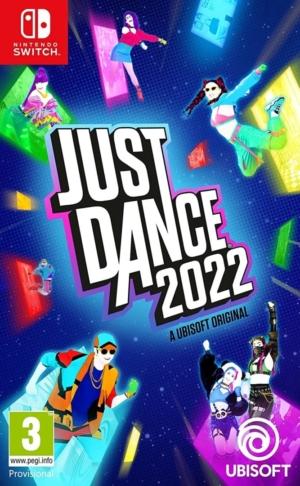 Just Dance 2022 Box Art NSW