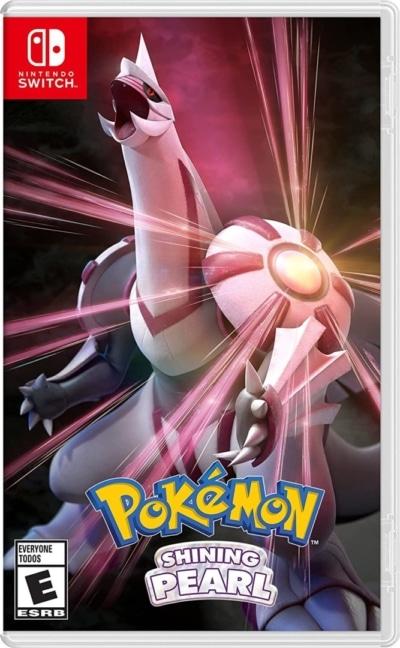 Pokémon Shining Pearl Box Art