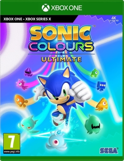 Sonic Colours: Ultimate Box Art XSX