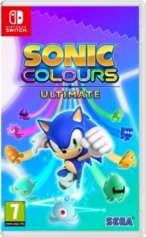 Sonic Colours: Ultimate Box Art NSW