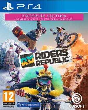 Riders Republic Freeride Edition Box Art PS4