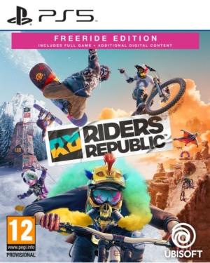 Riders Republic Freeride Edition Box Art PS5