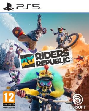 Riders Republic Box Art PS5