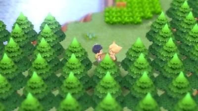Pokémon Shining Pearl Game Screenshot 2