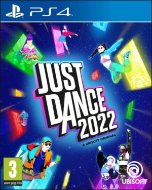 Just Dance 2022 Box Art PS4