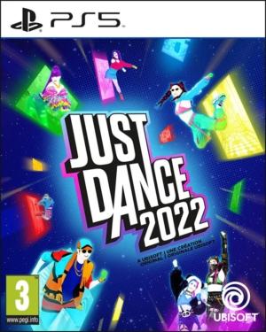 Just Dance 2022 Box Art PS5