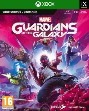 Marvel's Guardians of the Galaxy Box Art XSX