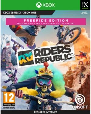 Riders Republic Freeride Edition Box Art XSX