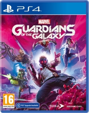 Marvel's Guardians of the Galaxy Box Art PS4