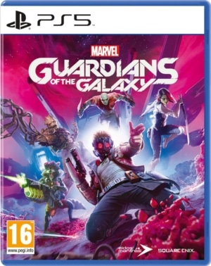 Marvel's Guardians of the Galaxy Box Art PS5