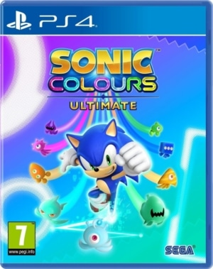Sonic Colours: Ultimate Box Art PS4