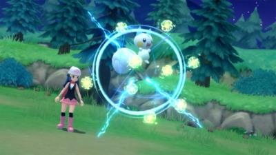 Pokémon Shining Pearl Game Screenshot 1